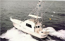 fishing charter boat